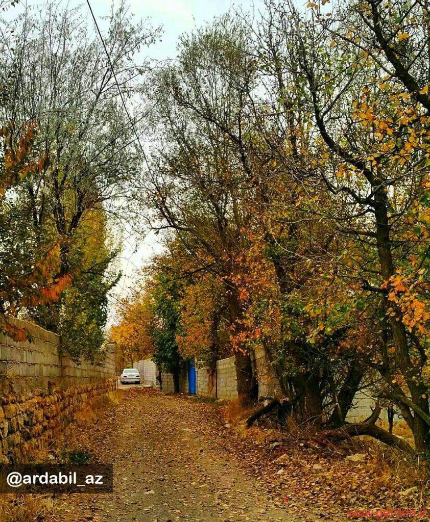 پاییز زیبا در روستای گرده