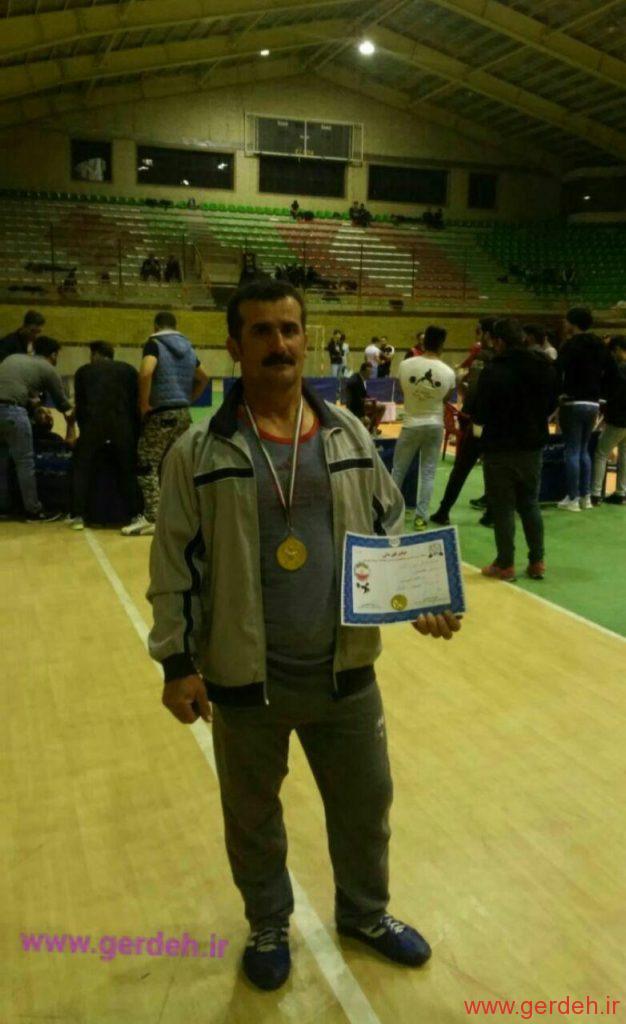 کسب مقام قهرمانی آقای علی اتحاد در رشته وزنه برداری( پرس سینه )  در مسابقات استانی مشکین شهر